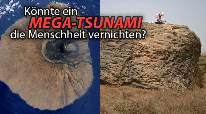 Wissenschaftler sagen einen 300m Tsunami vorraus
