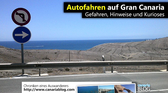 Autofahrer auf Gran Canaria