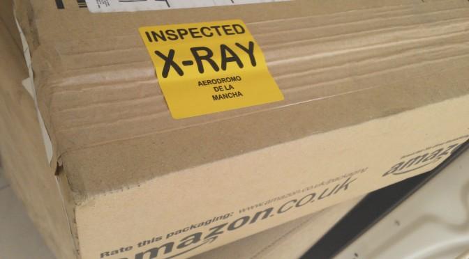 My shipment got X-Rayed!
